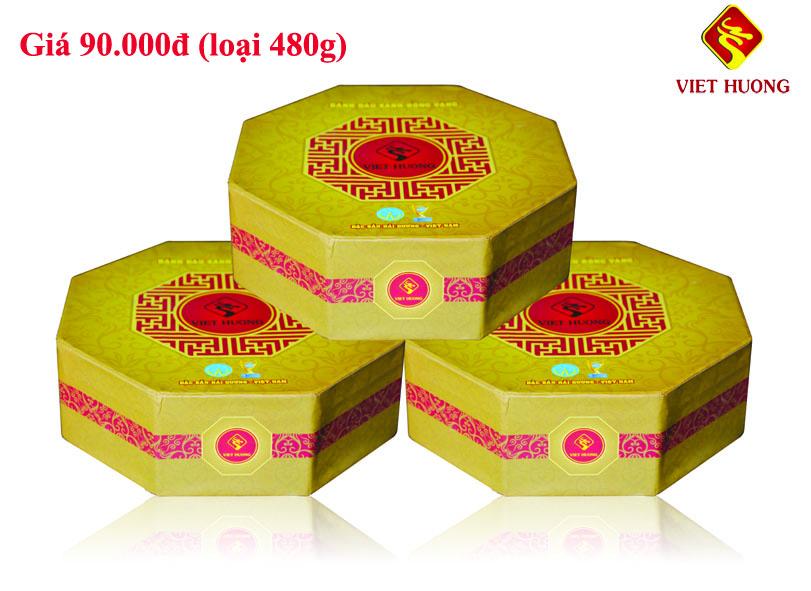 Kết quả hình ảnh cho Bánh đậu xanh Bát giác 480g
